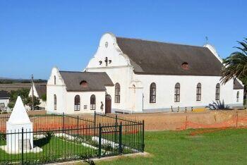 Moravian Mission Church, L\'Agulhas Plain, Whale Coast, Western Cape