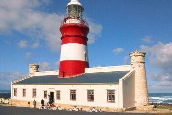 Cape Agulhas Lighthouse,  L\'Agulhas, Whale Coast, Western Cape