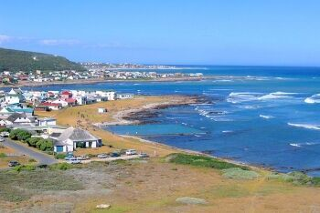 Tidal pool at L\'Agulhas, Whale Coast, Western Cape